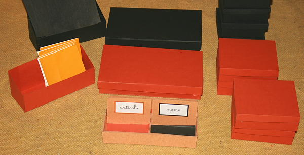scatole grammaticali DIY 45