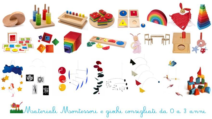 Acquisto online di materiali Montessori e giochi da 0 a 3 anni 2