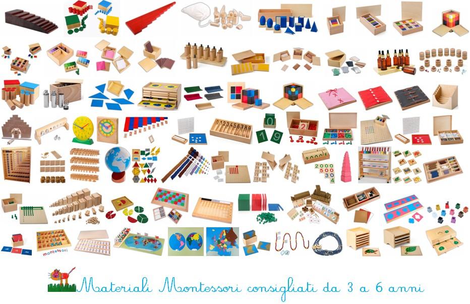 Acquisto online di materiali Montessori e giochi da 3 a 6 anni 1