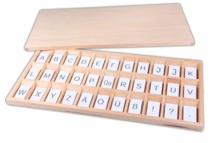 alfabeto mobile blu