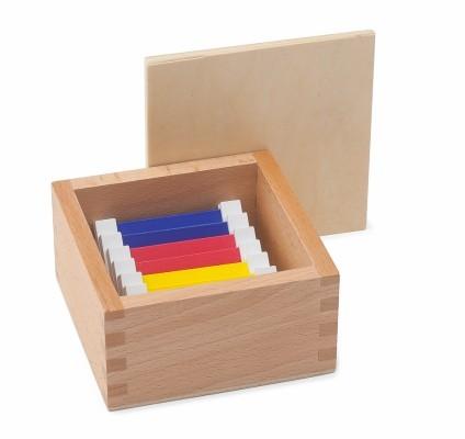 spolette dei colori Montessori serie 1