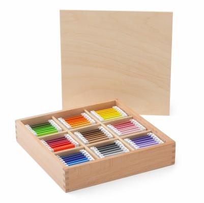 spolette dei colori Montessori serie 3