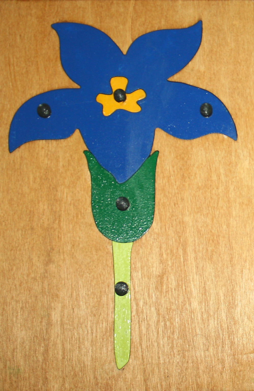 incastro del fiore Montessori 9