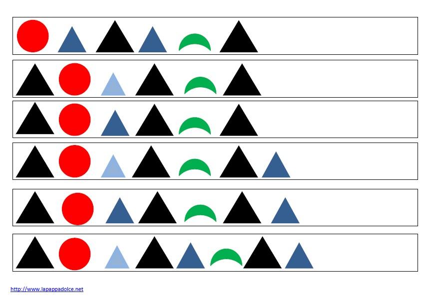 modelli di frasi coi simboli grammaticali - solo simboli 8