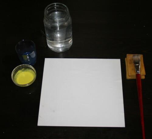 Acquarello steineriano - Le pratoline 1