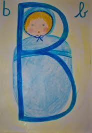 Alfabeto illustrato steineriano B