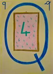 Alfabeto illustrato steineriano Q