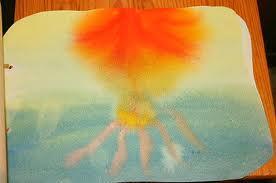 Acquarello steineriano poesia illustrata Dal seme al seme