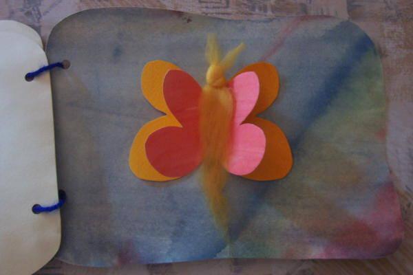 acquarello steineriano sulla metamorfosi della farfalla 10