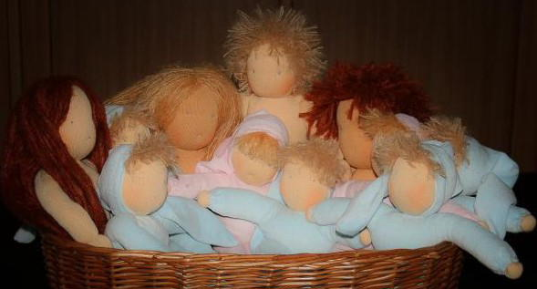 Waldorf doll tutorial – and ebook – in English