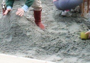 La buca della sabbia