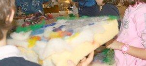 lana cardata laboratori per bambini 9