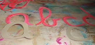 lettere smerigliate Montessori corsivo 3