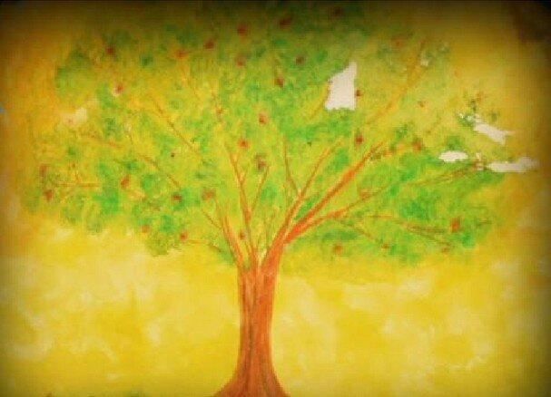 Acquarello steineriano - Un lavoro sul ciclo delle stagioni e l'albero per arte e immagine 1