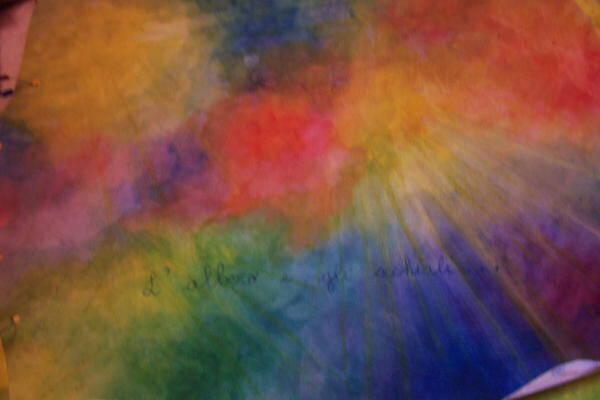 Acquarello steineriano - Un lavoro sul ciclo delle stagioni e l'albero per arte e immagine 11