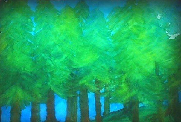 Acquarello steineriano - Un lavoro sul ciclo delle stagioni e l'albero per arte e immagine 4