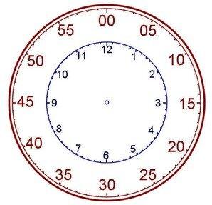 Orologio da stampare az colorare orologi da stampare e for Cieffe arredi di chiappini federico rimini