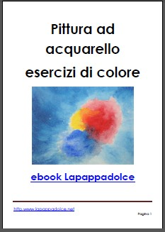 pittura ad acquarello ebook