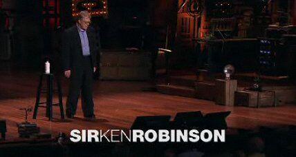 Sir Ken Robinson – Comincia la rivoluzione dell'apprendimento…