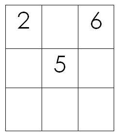 Quadrati magici per esercitarsi con l'addizione 3