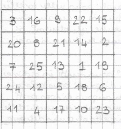 quadrati magici 9