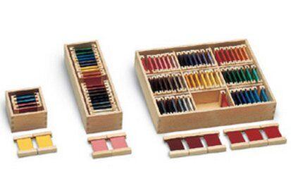 Spolette dei colori Montessori: presentazione generale