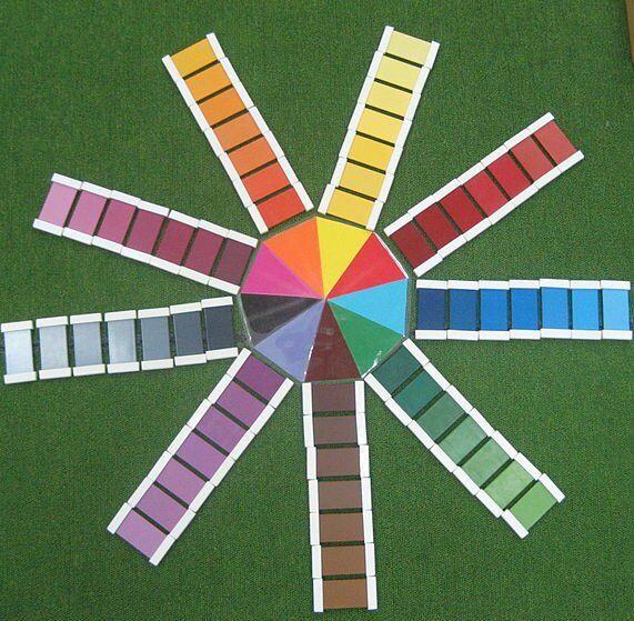 spolette dei colori Montessori 9