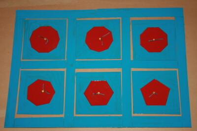 Cofanetto delle figure geometriche piane Montessori presentazione ed esercizi 18