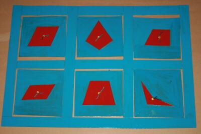 Cofanetto delle figure geometriche piane Montessori presentazione ed esercizi 20