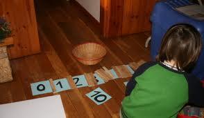 numeri tattili montessoriani - come costruirli 5