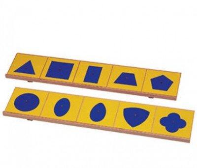 Prescrittura Montessori - come si usano gli incastri metallici 20