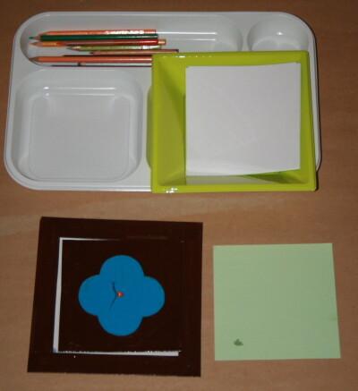 Prescrittura Montessori - come si usano gli incastri metallici 8