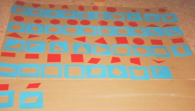 Tutorial DIY Montessori costruire il cofanetto delle figure geometriche 15