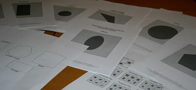 Tutorial DIY Montessori costruire il cofanetto delle figure geometriche 2