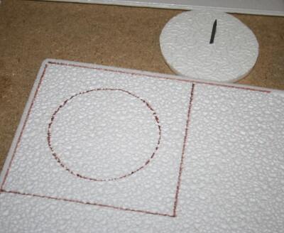 Tutorial DIY Montessori costruire il cofanetto delle figure geometriche 9