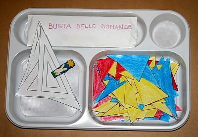 Il gioco dei triangoli (indovina l'aggettivo) Montessori