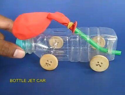 Esperimenti scientifici per bambini – automobiline con motore ad aria