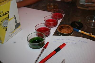 Esperimenti scientifici per bambini - il succo di cavolo rosso 2