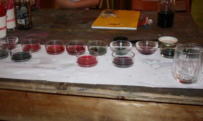 Esperimenti scientifici per bambini - il succo di cavolo rosso 3