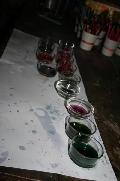 Esperimenti scientifici per bambini - il succo di cavolo rosso 8
