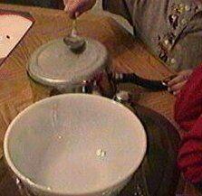 Esperimenti scientifici per bambini - visualizzare le onde sonore - Piastre di Chladni, Eidophone 1
