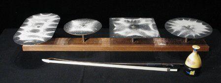 Esperimenti scientifici per bambini - visualizzare le onde sonore - Piastre di Chladni, Eidophone 2