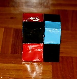 Montessori DIY il cubo del binomio 1