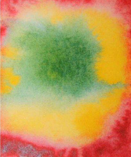 Acquarello steineriano - Esercizio di colore 36