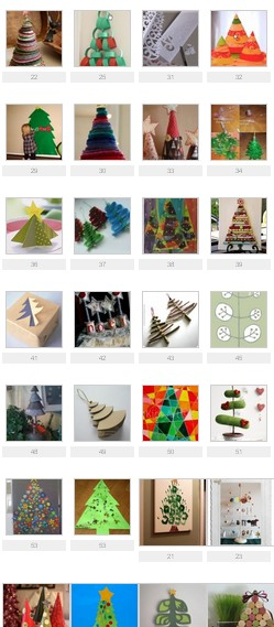 Christmas trees - 50 and more creative projects - second part