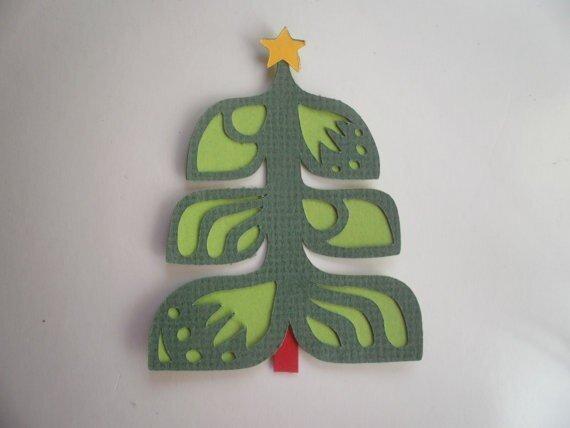 Alberi di Natale - 50 e più progetti creativi - 44