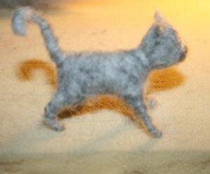 Animali di lana cardata - Gattino 10