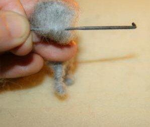 Animali di lana cardata - Gattino 8