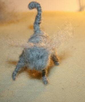 Animali di lana cardata - Gattino 9