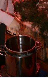 Candele di cera d'api - tecnica ad immersione - Santa Lucia 9